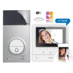 Kit Videoportero Superficie Wifi Color Clase 100X16E Tegui 2 Hilos 364614
