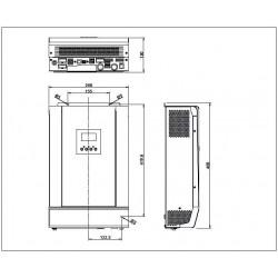Inversor/cargador Steca PLI 5000-48 5000VA 48V Solarix