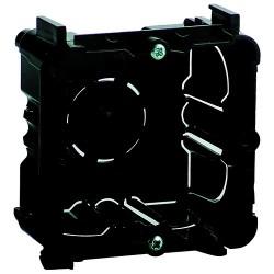 Caja Universal con Tornillos para Empotrar Mecanismos