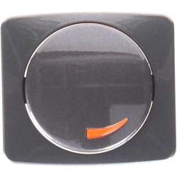Tapa + Botón Regulador Niessen Arco 8260.2 GF Grafito