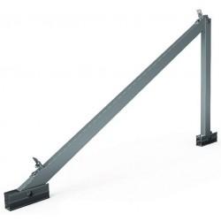 Soporte inclinado para cubierta plana 15º/30º - horizontal