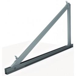 Soporte inclinado para cubierta metálica 15º/30º - vertical - modulos 2000x1000 mm
