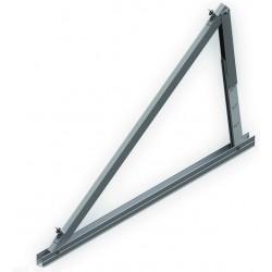 Soporte inclinado para cubierta metálica regulabe de 20º a 35º - vertical