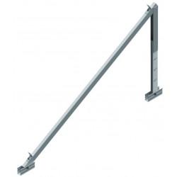 Soporte inclinado para cubierta plana regulabe de 20º a 35º - vertical