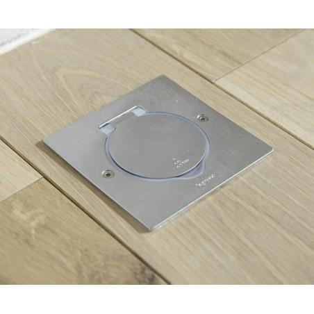 Caja de Suelo 2 Módulos IP44 Inox. Legrand 089700