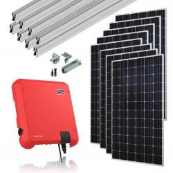 Kit Solar Monofásico 3,0 Kw Autoconsumo