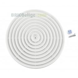 """Rejilla Plástico Blanco 4""""  Sonelco P4281-01"""