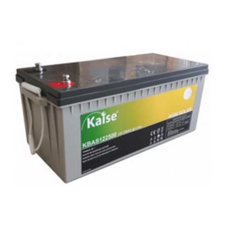 Batería monoblock - Kaise AGM solar 12V - 250Ah (C100)