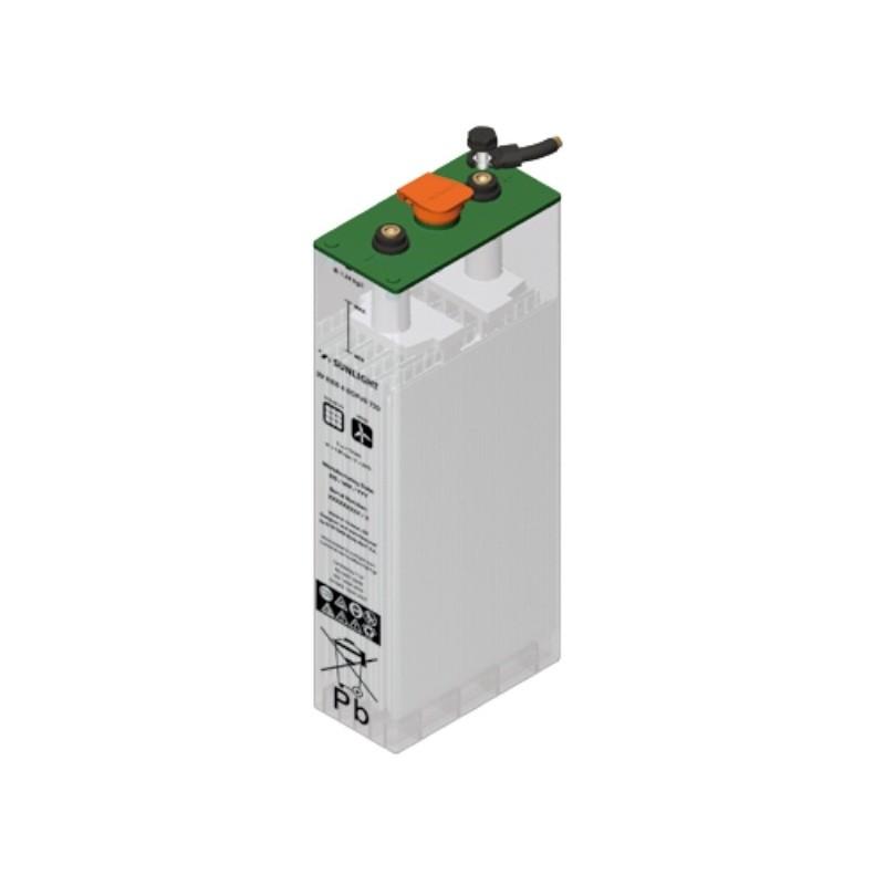 Batería tubular PB abierto 2V 500Ah (C120) - SOPZS 500 - Sunlight