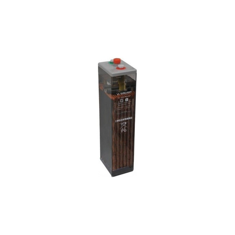 Batería tubular PB abierto 2V 1260Ah (C100) - OPZS 800 - Sunlight