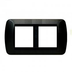 Placa 2+2 Módulos Aluminio L4802/2AL Living Internacional