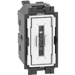 Interruptor 1P 10AX 1 Módulo Bticino Living Now K4001A Iluminable