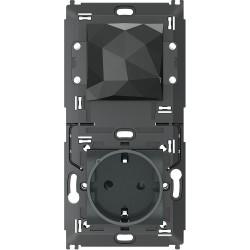 Starter Pack Antracita Legrand L4501C Livinglight With Netatmo