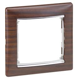 Placa 4 Elementos Aluminio Legrand Valena 770354