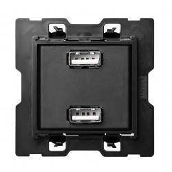 Cargador USB 2 Entradas Simon 100 10000381-039