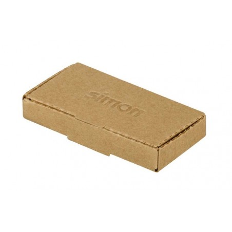 Tapa para Toma R-TV+SAT Simon 100 Blanco 10000053-130