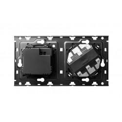 Kit Back Base + Cargador 2xUSB Simon 100 10010205-039