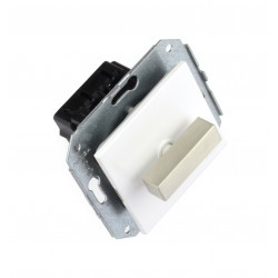 Interruptor Unipolar 10AX - 250V Lazo de Acero Inoxidable 37-306-25-2 Fontini F-37