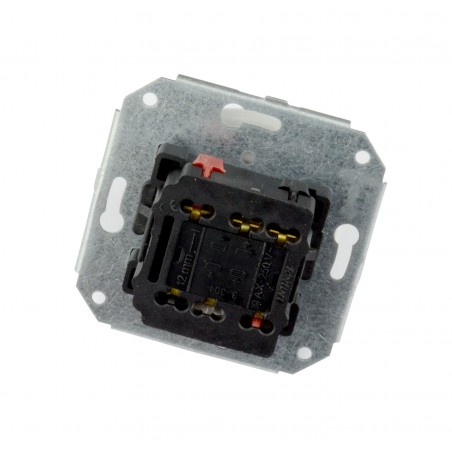 Doble Interruptor 10AX - 250V Lazo Madera 31-300-18-2 Fontini Garby Colonial