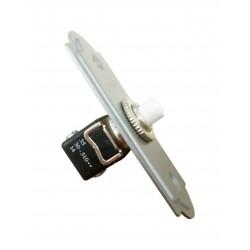 Pulsador Timbre Botón+Placa 10A - 250V Cromado 14-010-51-2 Fontini