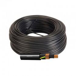 Manguera Flexible Multipolar 6G1 PVC Negro H05VV-F CPR Eca 500V