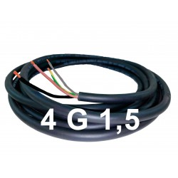 Manguera Negra Cable 4G1,5...
