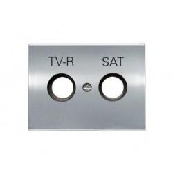 Tapa para Toma TV-R/SAT Niessen Olas 8450.1 TT Titanio