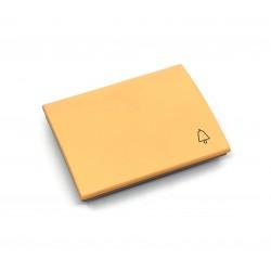 Tecla para Pulsador Timbre Niessen Olas 8404 AA Amarillo Az.