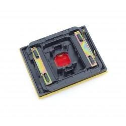 Tecla con Visor para Pulsador Timbre Niessen Olas 8404.3 AA Amarillo Az.