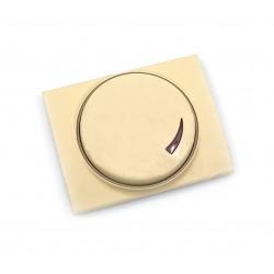 Tapa+Botón para Regulador Giratorio Niessen Olas 8460.2 ML Melocotón