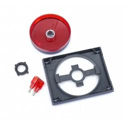 Tapa+Botón para Regulador Giratorio Niessen Olas 8460.2 AC Azul Cobalto