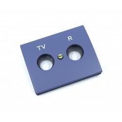 Tapa para Toma TV-R Niessen Olas 8450 AC Azul Cobalto
