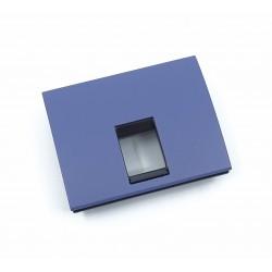 Tapa para Toma Tlf / Toma Informática Niessen Olas 8417.1 AC Azul Cobalto