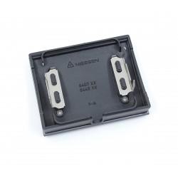 Tapa Salida de Cables + Pulsador Tirador Niessen Olas 8407 AC Azul Cobalto