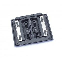 Tecla para Doble Interruptor-Conmutador-Pulsador Niessen Olas 8411 AC