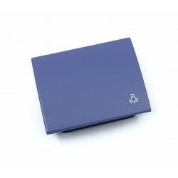 Tecla para Pulsador Luz Niessen Olas 8404.2 AC Azul Cobalto