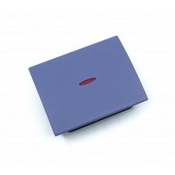Tecla con Visor para Interruptores Niessen Olas 8401.3 AC Azul Cobalto