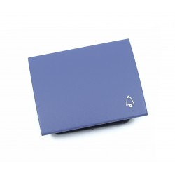 Tecla para Pulsador Timbre Niessen Olas 8404 AC Azul Cobalto