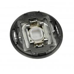 Tecla Interruptor-Conmutador-Cruzamiento-Pulsador Con Visor Cromo 8601.3 CR