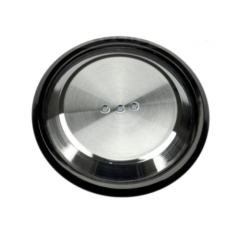 Tecla Interruptor-Conmutador-Cruzamiento-Pulsador Con Visor Cristal Negro 8601.3 CN