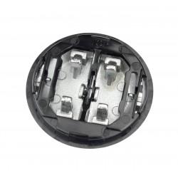 Tecla Interruptor Persianas Cristal Negro 8644 CN
