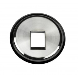 Tapa 1 Conector Cristal Negro 8618.1 CN Niessen Skymoon