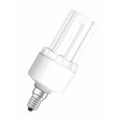 Bombillas de Bajo Consumo de Tubos 8W 230 V. Luz Blanca Casquillo Tipo E-14