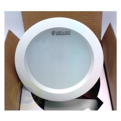 Downlight Redondo de Led 12W Empotrable Blanco 1400 Lúm