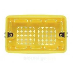 Caja Unicaja con Tornillos para Empotrar Mecanismos 3 Módulos 503E