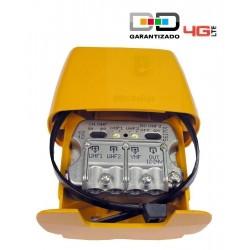 Amplificador de Mástil Entradas UHF - UHF Y VHF Ganancia 27 dB 561701
