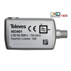 Filtro Anti LTE C21-60 de Interior Televés 403401