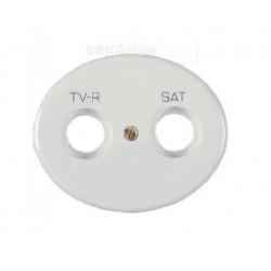 Tapa para Toma de TV - SAT 5550.1 BL Blanca