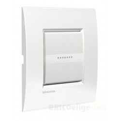 Placa 1 Ventana Blanco LNE4802BN Livinglight AIR BTicino