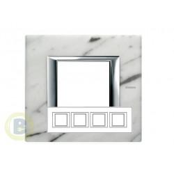 Placa 4 Ventanas Mármol de Carrara HA4802M4HRMC Axolute